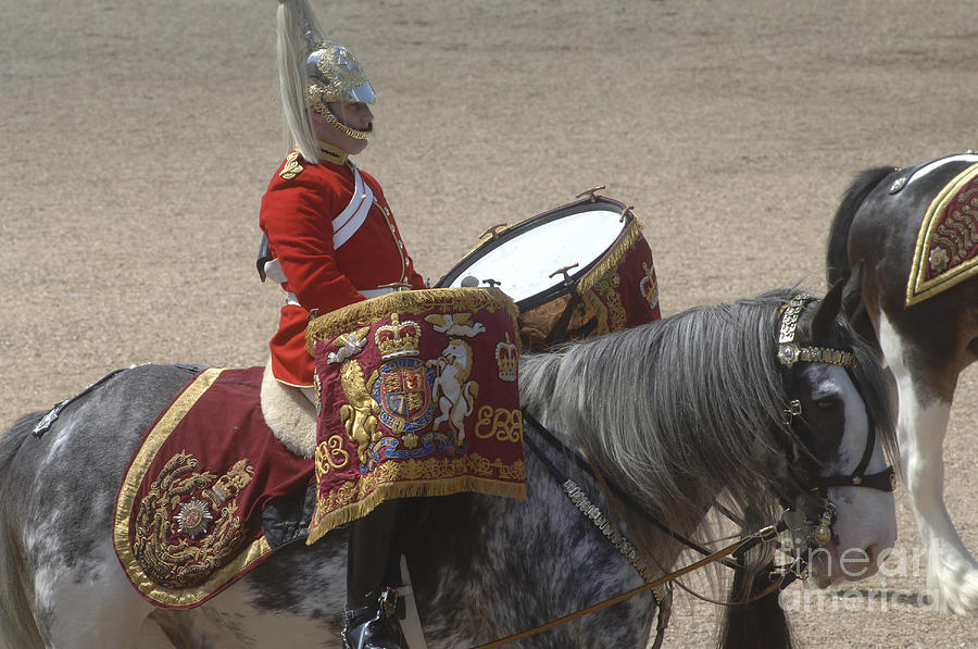 Cap Photograph - The Kettledrums Of Household Cavalry by Andrew Chittock