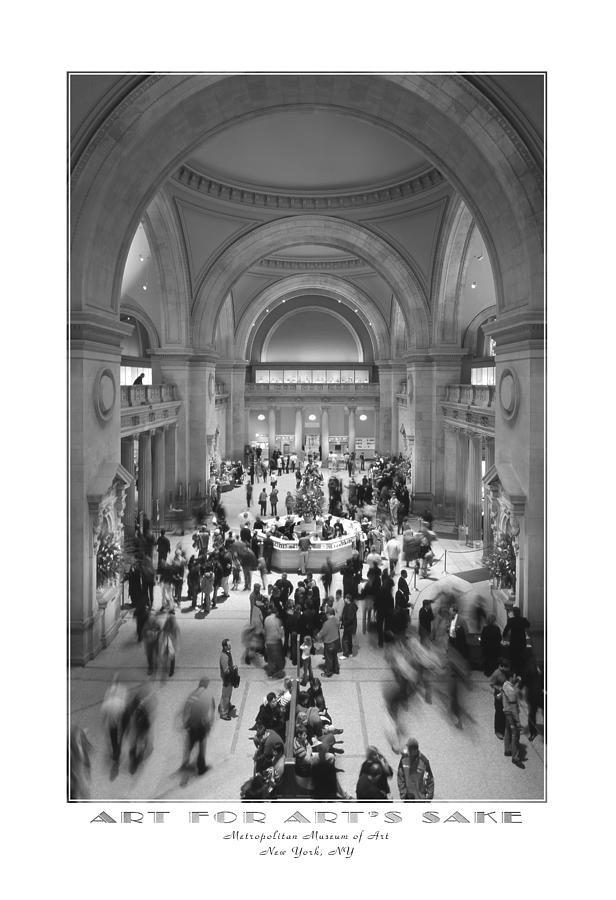 Metropolitan Photograph - The Metropolitan Museum Of Art by Mike McGlothlen