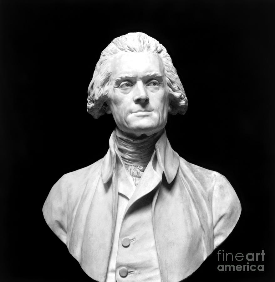 18th Century Photograph - Thomas Jefferson (1743-1826) by Granger