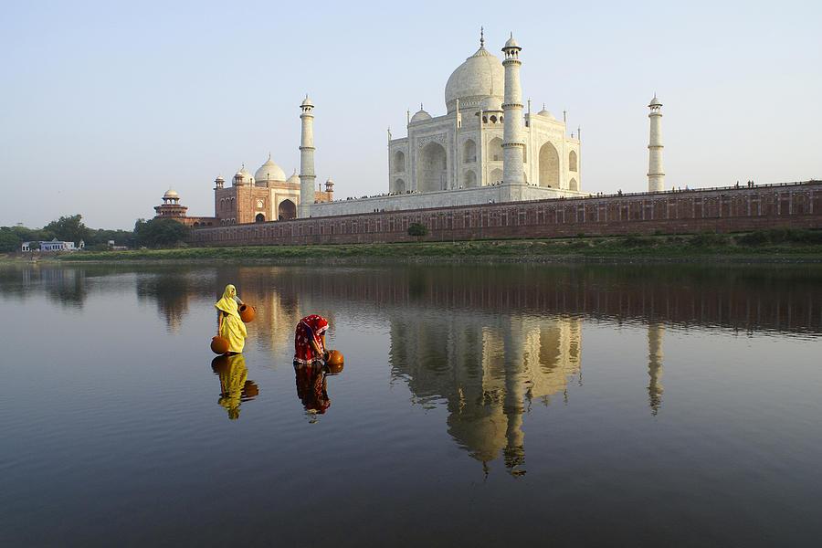 Taj Mahal Photograph - Timeless Taj Mahal by Michele Burgess