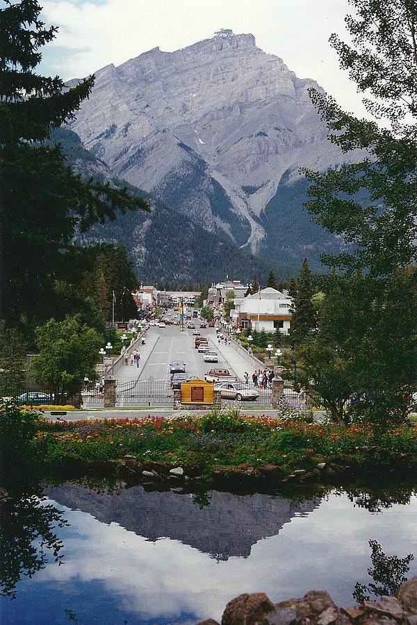 Town Of Banff Photograph