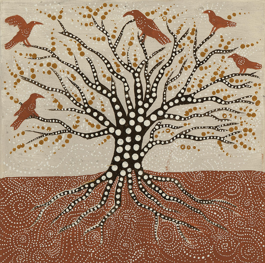 Tree Of Life Painting - tree of Life by Sophy White