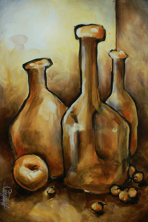 Still Life Painting - Untitled by Michael Lang
