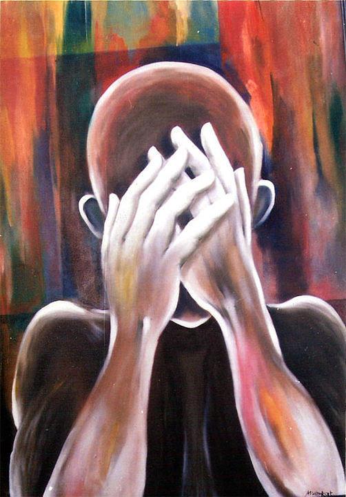 Feelings Painting - Untitled by Venkat Meruvu