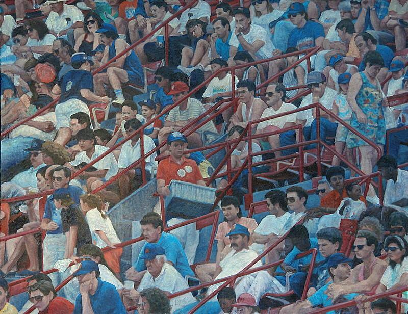 Stadium Series Painting - Upper Decks by James Sparks