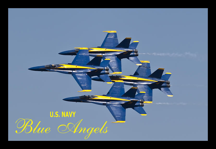 Us Navy Blue Angels Poster Photograph