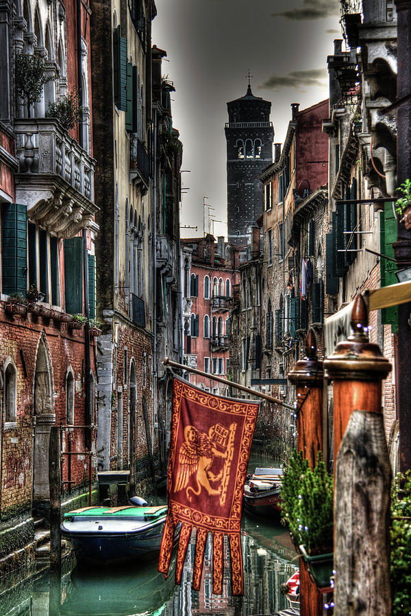Hdr Photograph - Venice by Andrea Barbieri