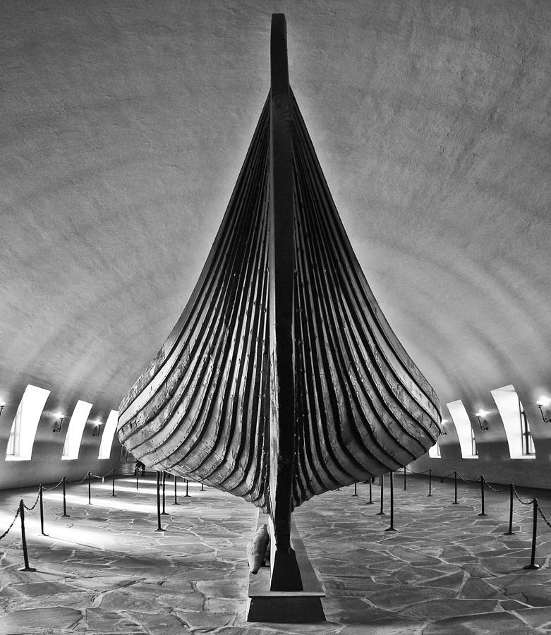 Vikingship Photograph by A A