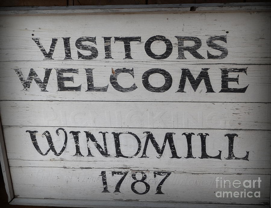 Visitors Welcome Photograph