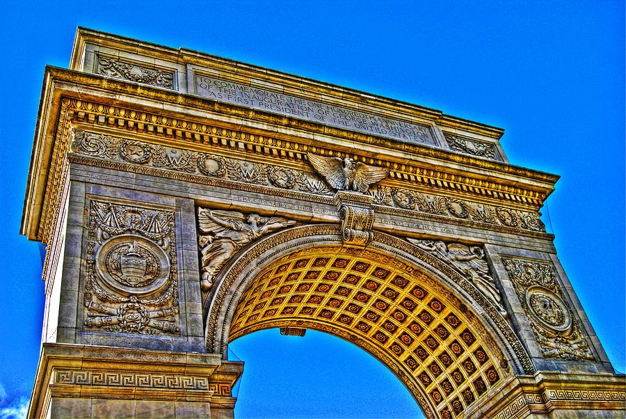 Washington Square Arch Photograph