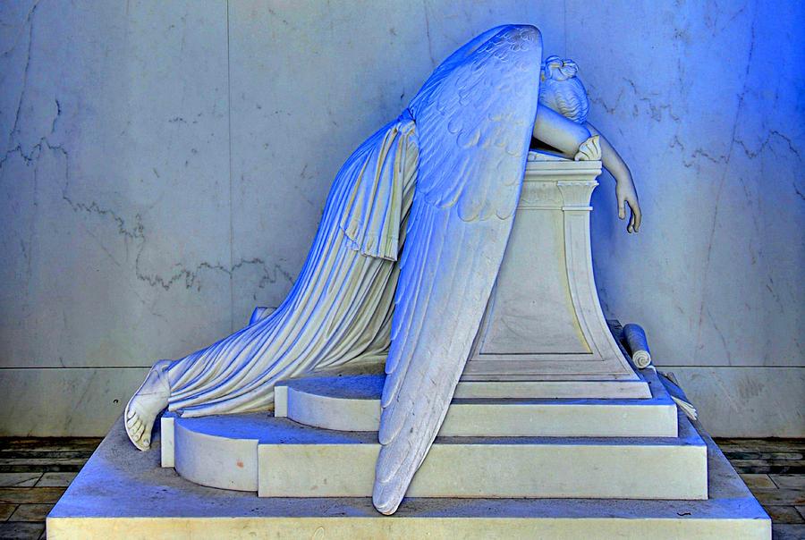 Weeping Angel Photograph - Weeping Angel by Ellis C Baldwin