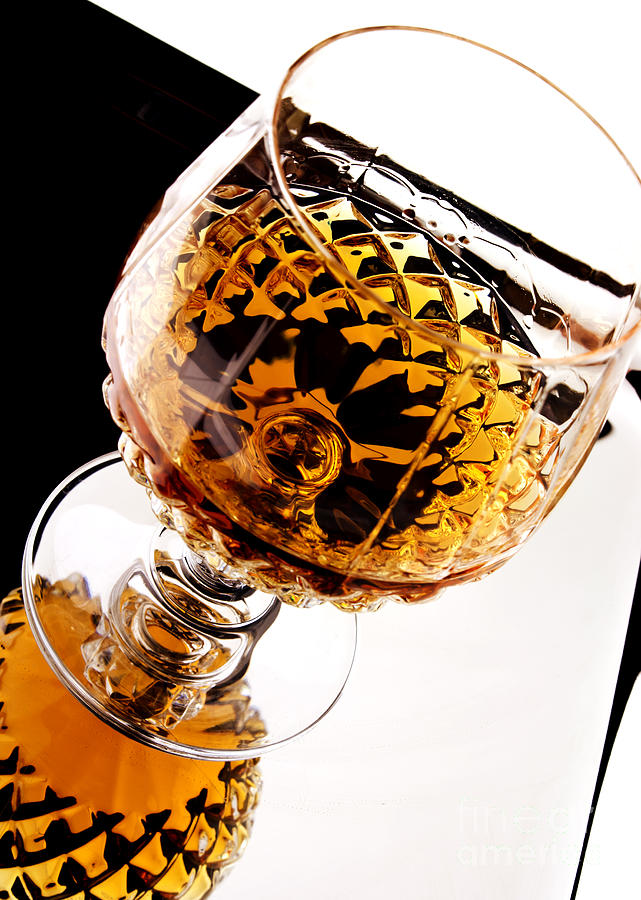 Whiskey In Glass Photograph