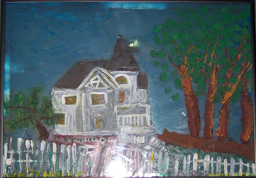 wHITE hOUSE 2 Glass Art