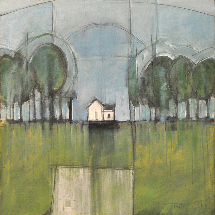 Woods Painting - White House by Tim Nyberg