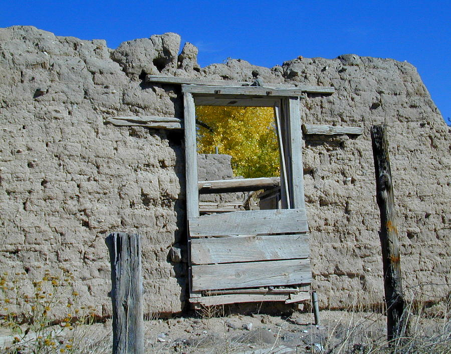 Window Photograph - Window In Autumn by Joseph R Luciano