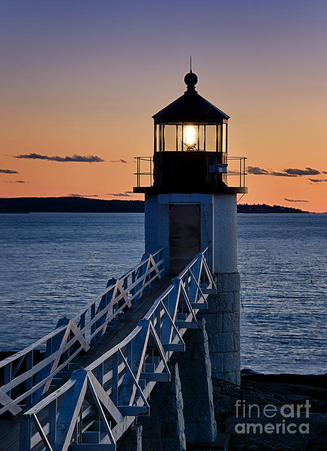 Marshall Point Lighthouse Photograph