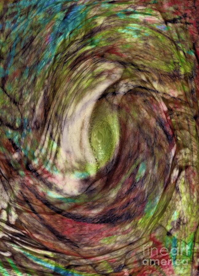Abstract Digital Art - 11-03-11 by Gwyn Newcombe