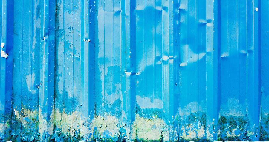 Blue Metal Photograph