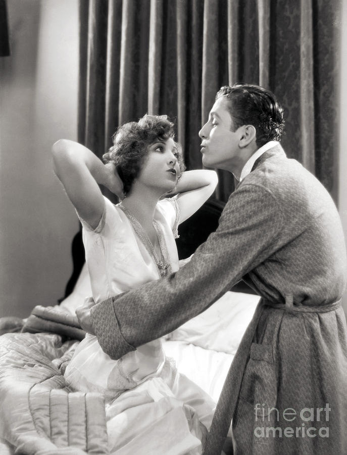 -couples- Photograph - Silent Film Still: Couples by Granger