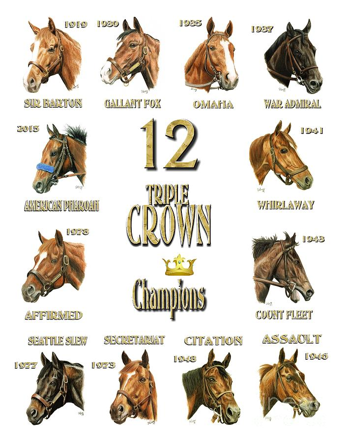 triple crown winners list