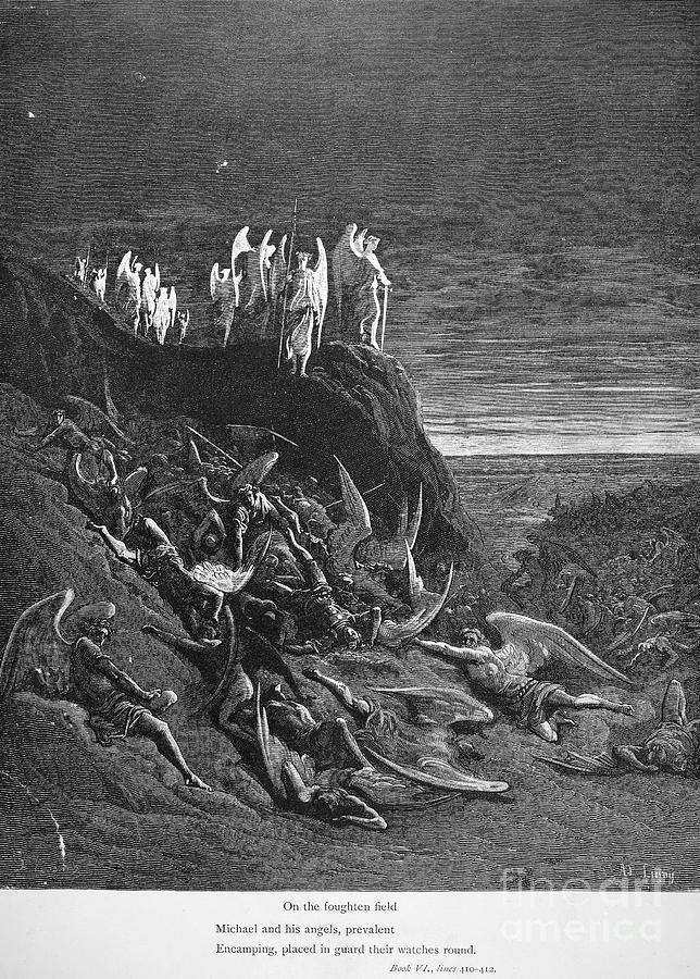 Archaeologist Photograph - Milton: Paradise Lost by Granger