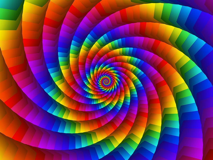 spiral rainbow - photo #25