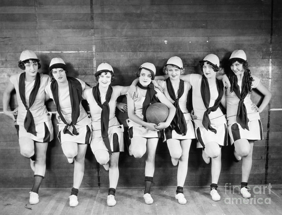 Silent Film Still: Sports Photograph