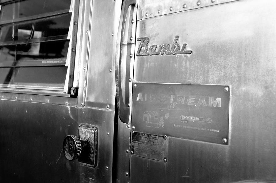 Fine Art Photography Photograph - 1930 Bambi Travel Trailer by David Lee Thompson