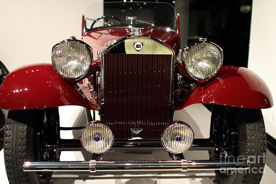 Transportation Photograph - 1932 Lancia Dilambda Tourer - 7d17207 by Wingsdomain Art and Photography