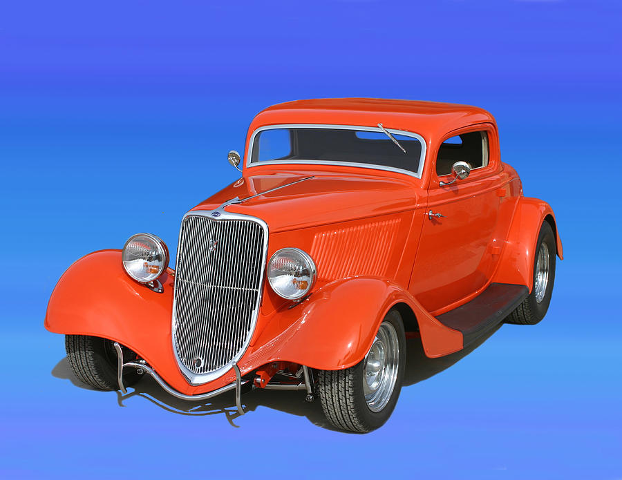 ... Of Cars Of The 30's Photograph - 1933 Ford Street Rod by Jack Pumphrey