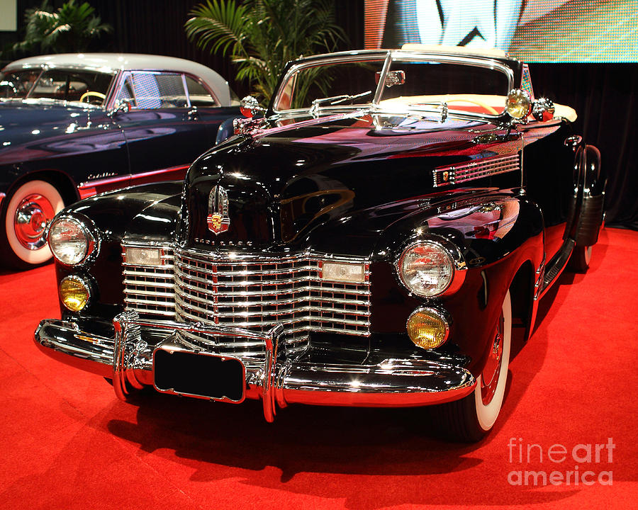 1941 Cadillac Series 62 Convertible Coupe . Front Angle Photograph
