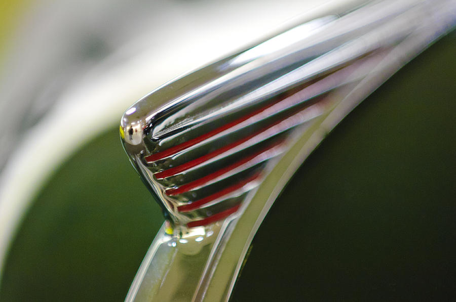 1941 Nash Ambassador 600 Hood Ornament Photograph