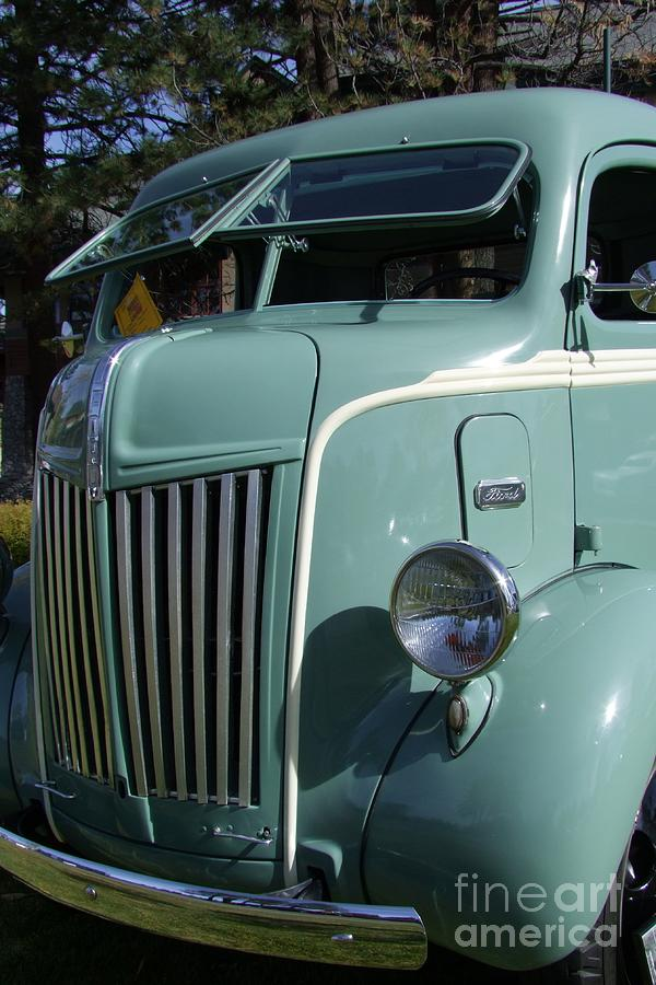 1947 Ford Cab Over Truck Photograph - 1947 Ford Cab Over Truck by Mary Deal