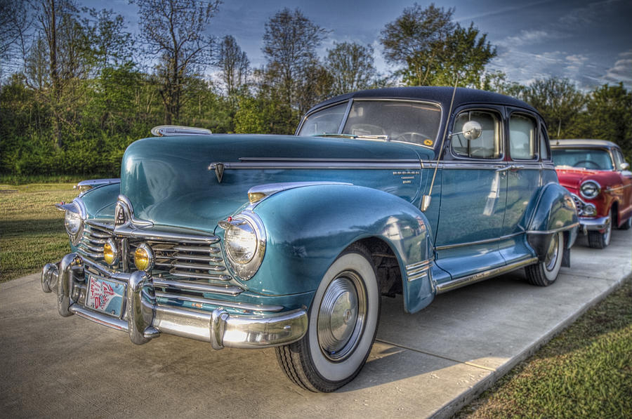 1947 Hudson Commodore Side View Photograph By Debra And