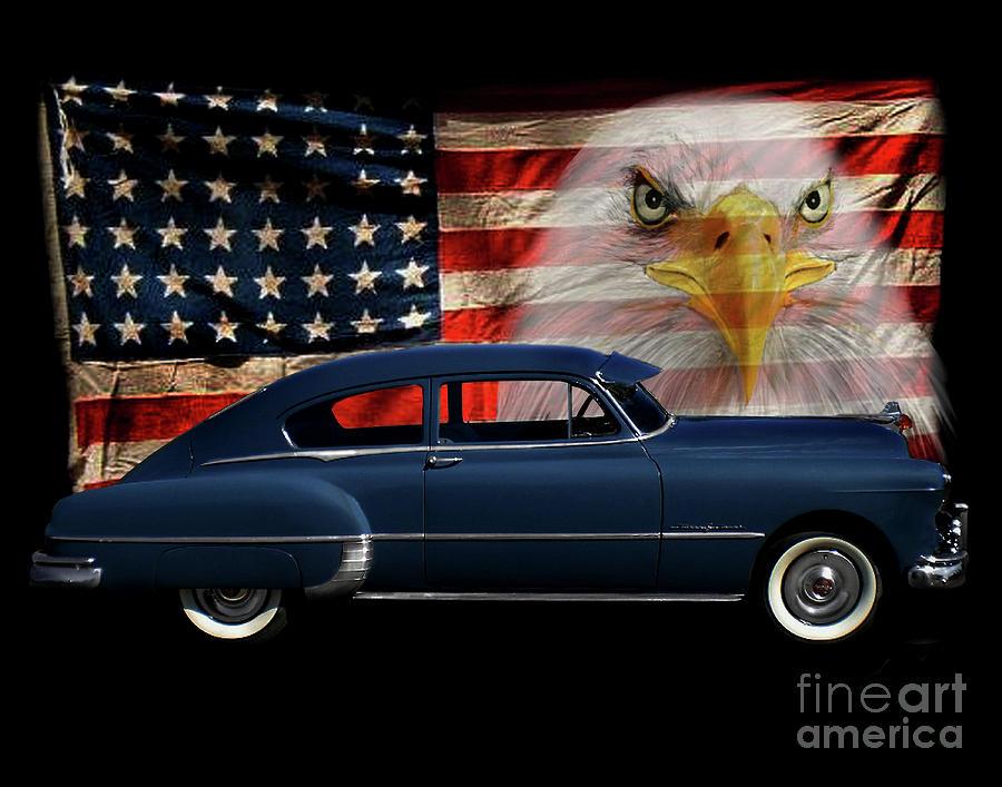 1949 Pontiac Photograph - 1949 Pontiac Tribute by Peter Piatt
