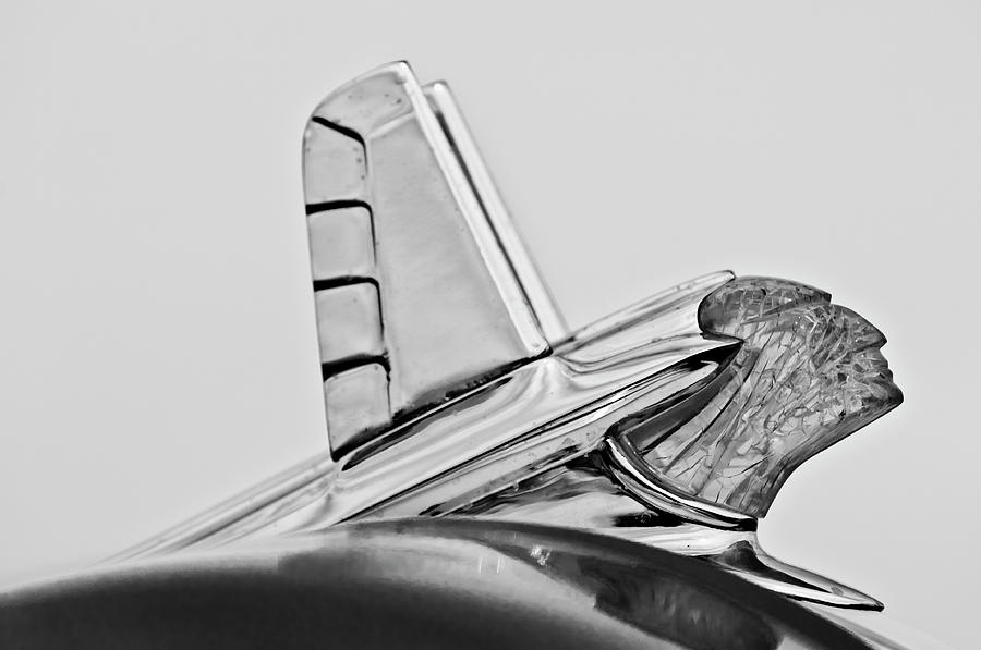 1953 Pontiac Photograph - 1953 Pontiac Hood Ornament 2 by Jill Reger