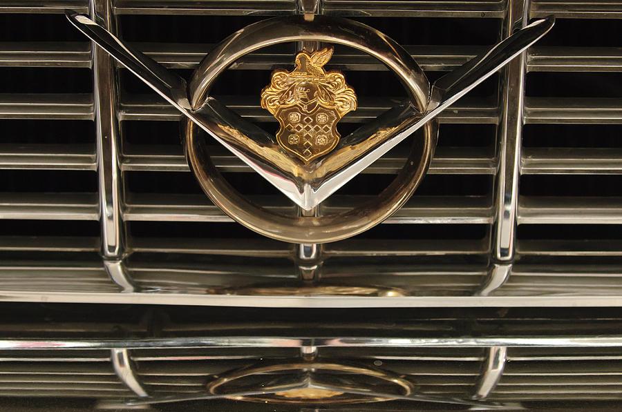 1955 Packard 400 Photograph - 1955 Packard Hood Ornament Emblem by Jill Reger