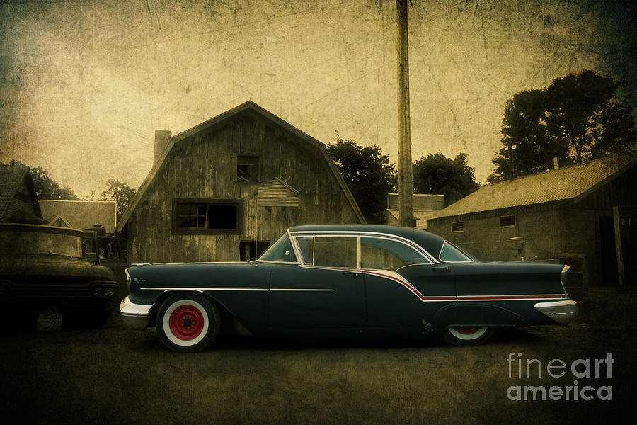 1957 Photograph - 1957 Oldsmobile by Joel Witmeyer