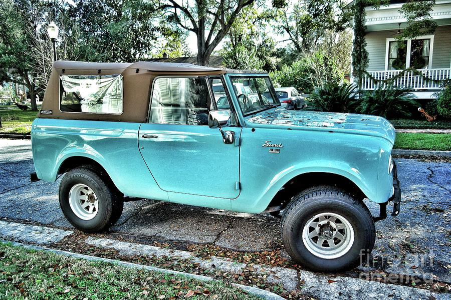 1966 International Scout 800 Photograph