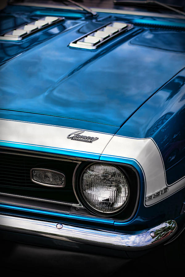 1968 Chevy Camaro Ss 396 Photograph