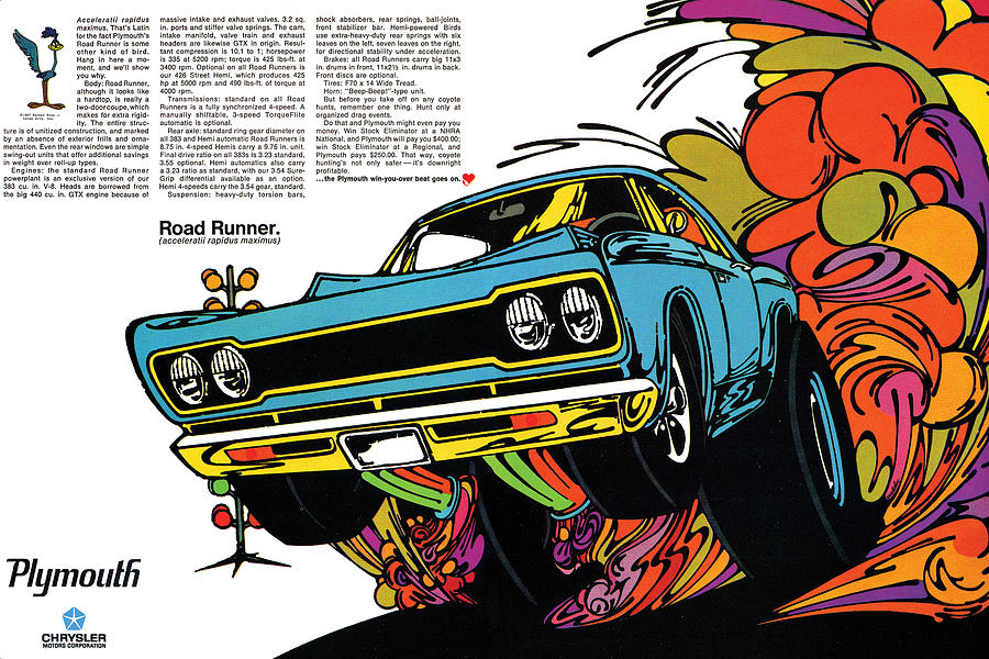 Pontiac Gto Concept Car Circuit Diagrams in addition ments besides Msds Ready To Run Distributor Install Test together with 1968 Plymouth Road Runner Digital Repro Depot likewise 2902848 1964 Corvette Electrical Problem. on 1969 chevelle wiring diagram