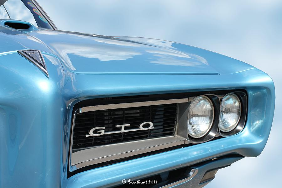 1968 Photograph - 1968 Pontiac Gto by Betty Northcutt