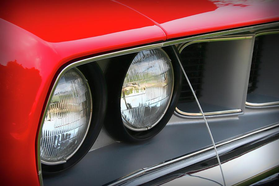 1971 Photograph - 1971 Plymouth Barracuda Cuda Red  by Gordon Dean II