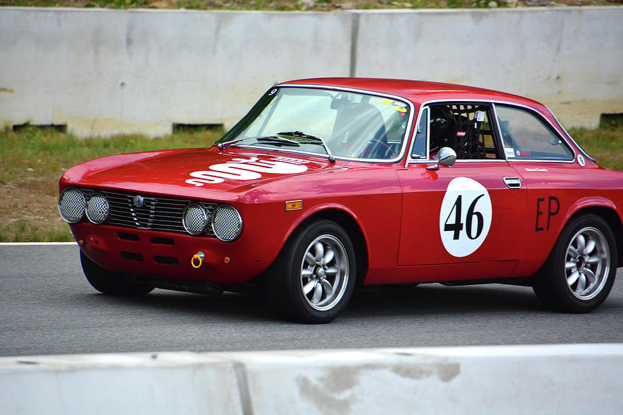 1974 Alpha Romeo Gtv Photograph By Mike Martin