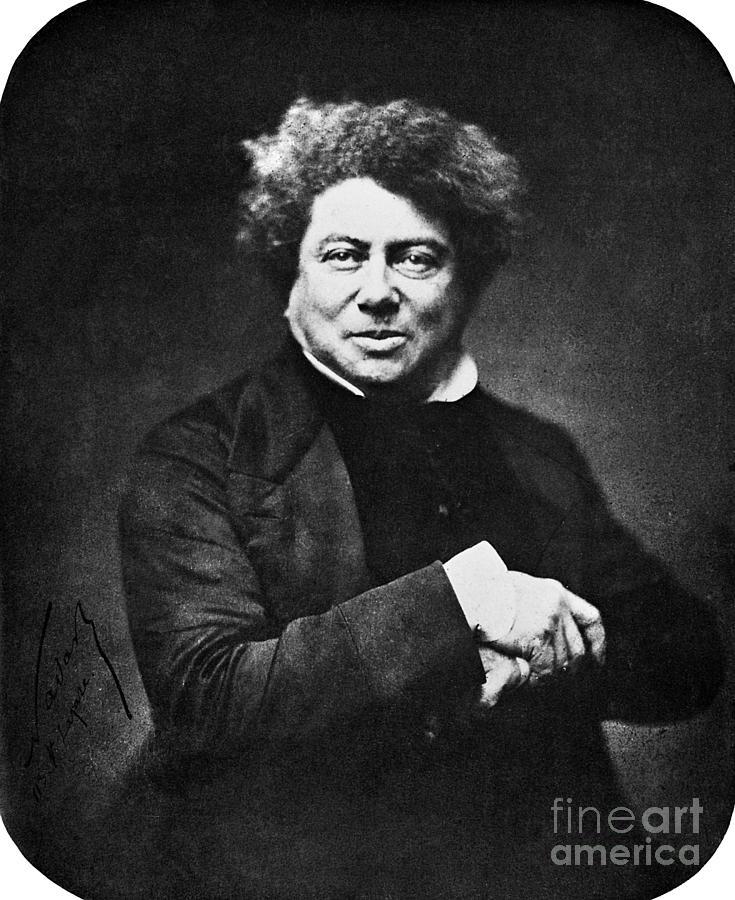 Alexandre Dumas (1802-1870) Photograph
