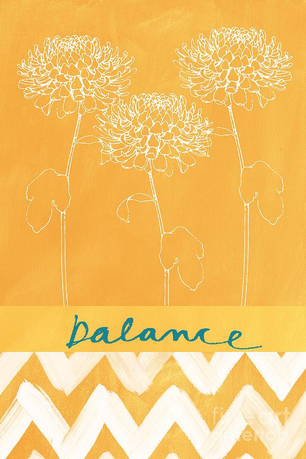 Balance Painting - Balance by Linda Woods