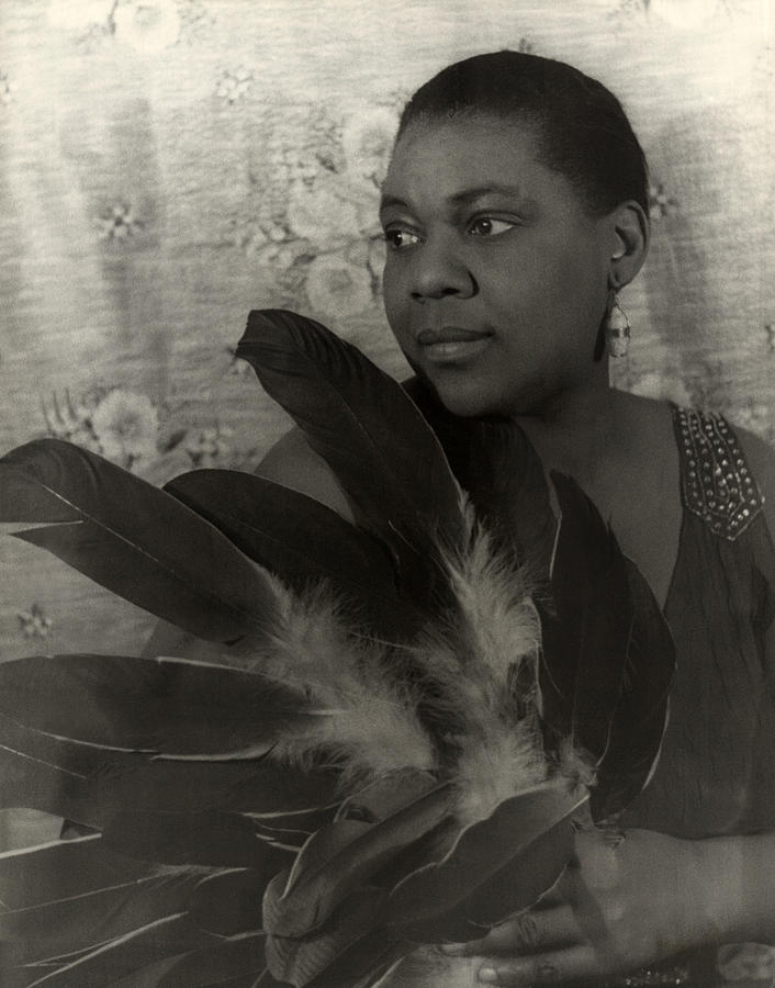 1930s Portraits Photograph - Bessie Smith, American Blues Singer by Everett