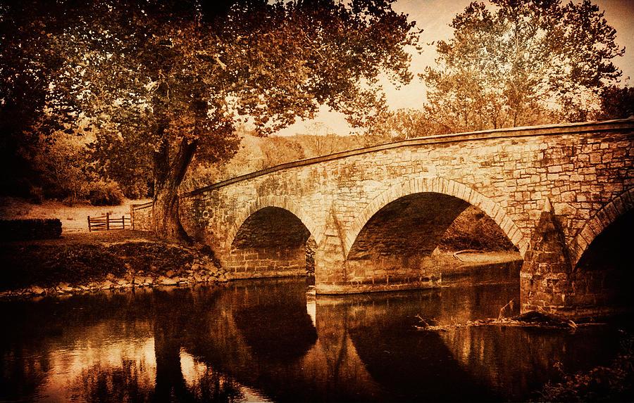 Burnside Bridge Photograph - Burnside Bridge by Mick Burkey