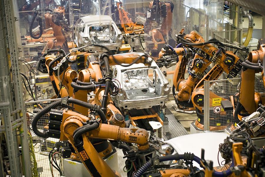 Car Factory Production Line Photograph