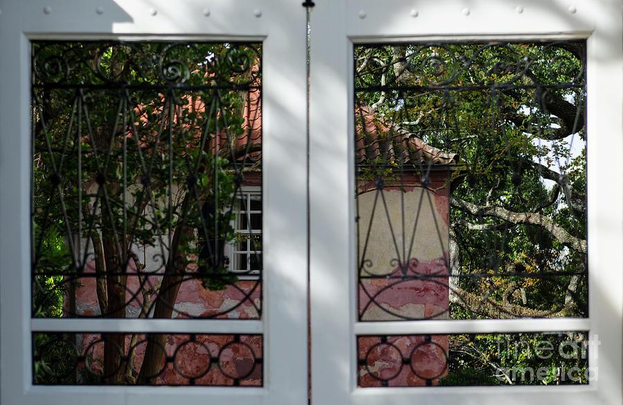 Charleston Window Photograph
